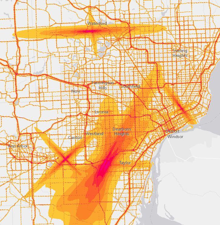 Best Noise Images On Pinterest - Us bureau of transportation statistics noise map