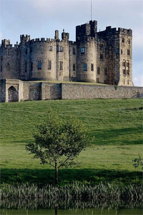 Castillo de Alnwick, Northumberland, Inglaterra