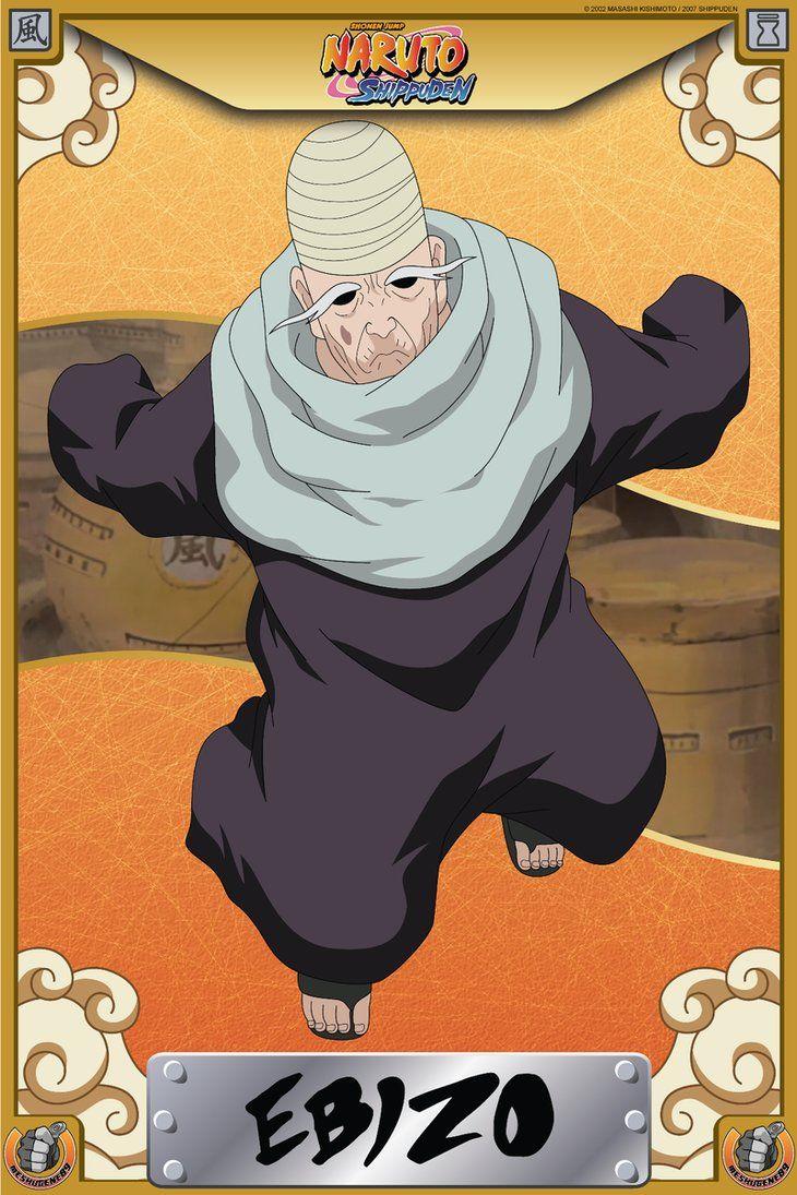 Ebizo   Anime - Naruto Shippuden   Birthday - January 6 ...