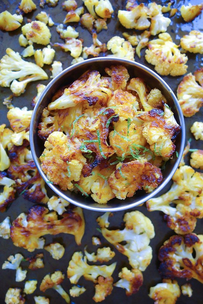 Spicy Cauliflower Roasted in Red Palm Oil (Paleo, AIP Stage 1 Reintroductions) - Zesty Paleo