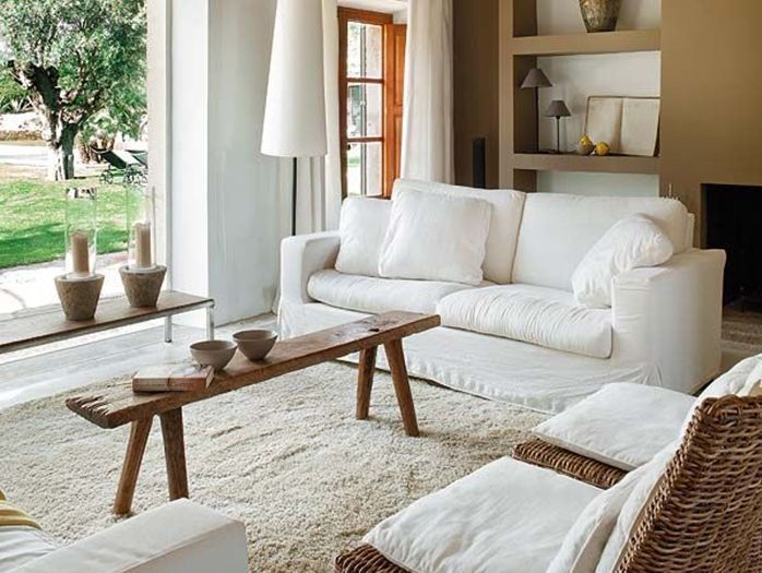 7 Unexpected Places To Put Benches In Your Home In 2021 Narrow Coffee Table Coffee Table Small Space Living Room Side Table Narrow coffee table for small space