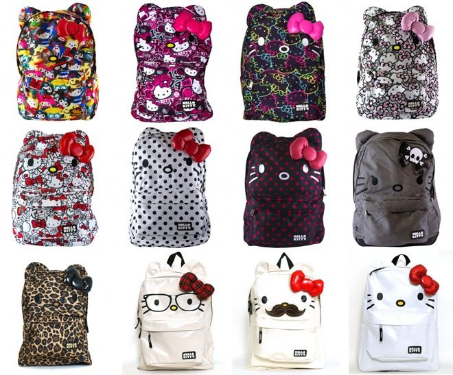 17 best Hello kitty book bags images on Pinterest | Book bags ...