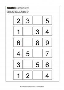 ontbrekende getallen 011