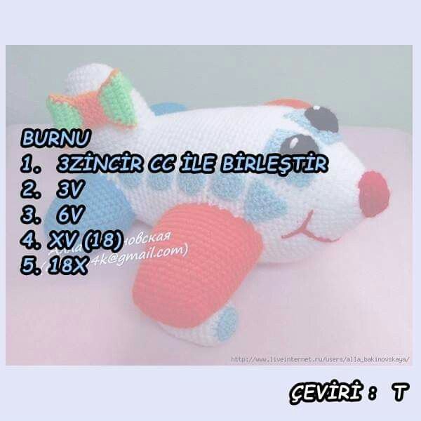Amigurumi oyuncak sıpa – 10marifet.org | 600x600