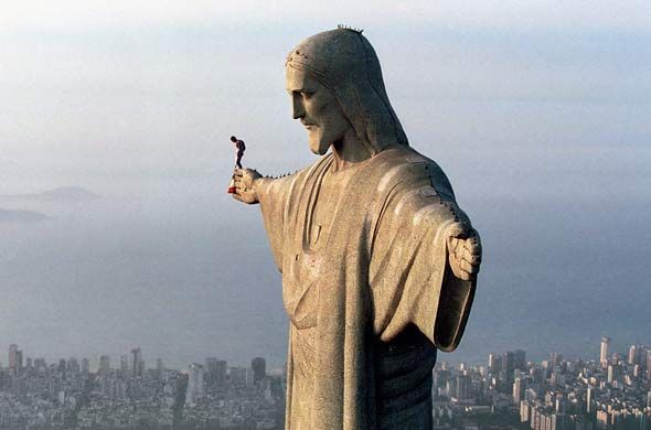 #devilmoo would love to be this adventurous when base jumping!: Basejump, Brazil, Rio De Janeiro, Christ The Redeemer, Statues, Base Jumping, Places, Riodejaneiro, Based Jumping