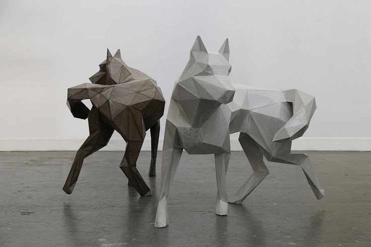 WOLVES SCULPTURE (FENRIR) on Behance