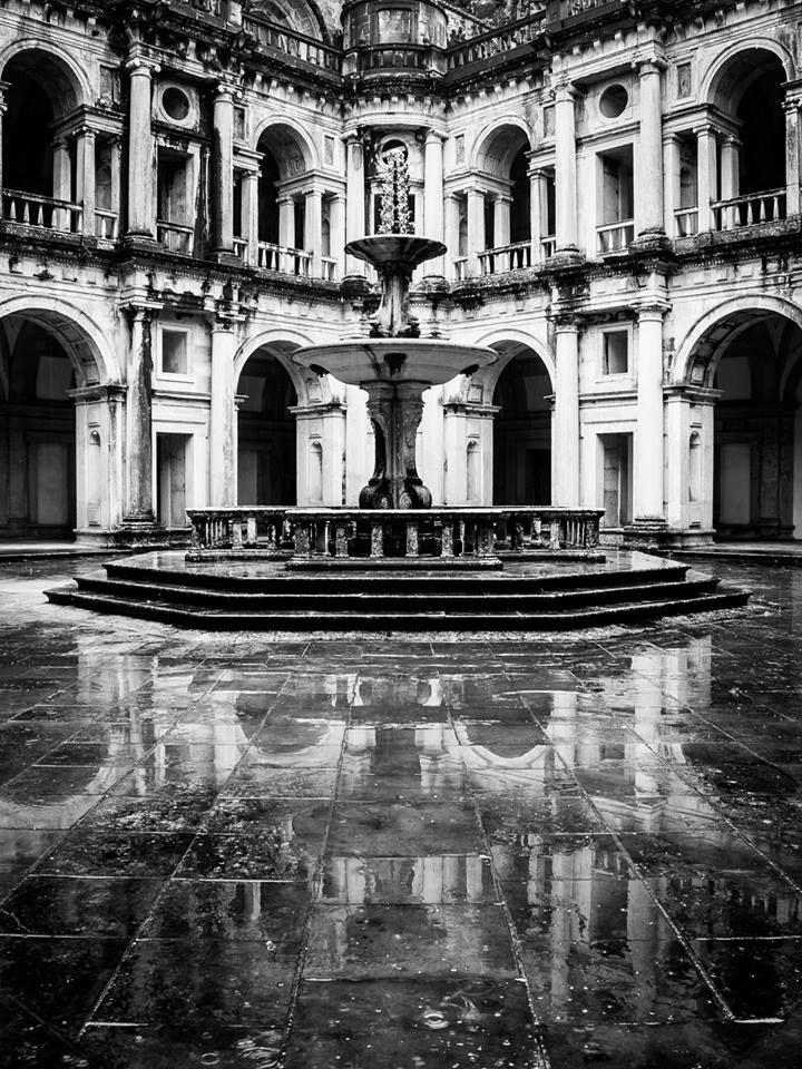 Claustro D. João III, Convento de Cristo. Tomar.