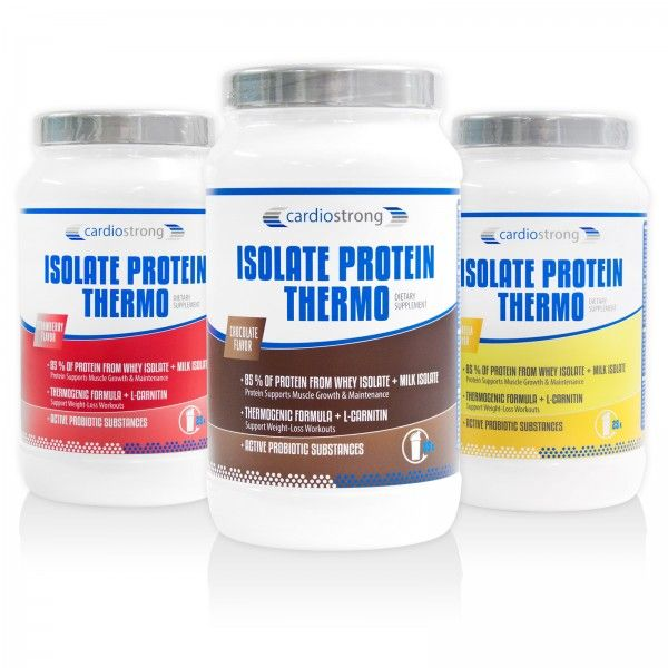 cardiostrong Isolate Protein Thermo