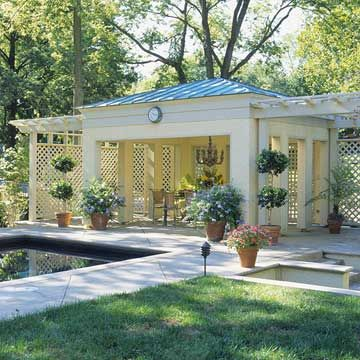 pool house and pavilion ideas - Patio Pavilion Ideas