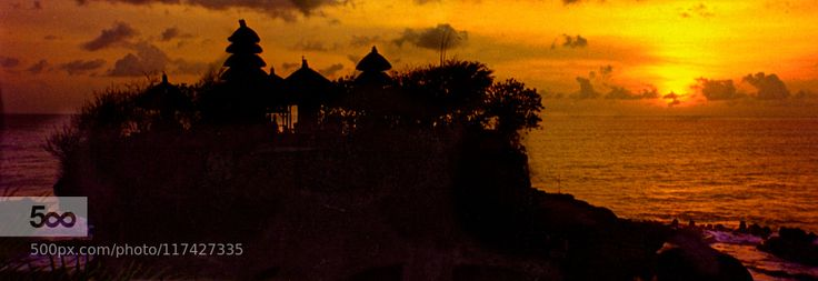 Sunset at Tanah Lot by thisismarysharp1. Please Like http://fb.me/go4photos and Follow @go4fotos Thank You. :-)