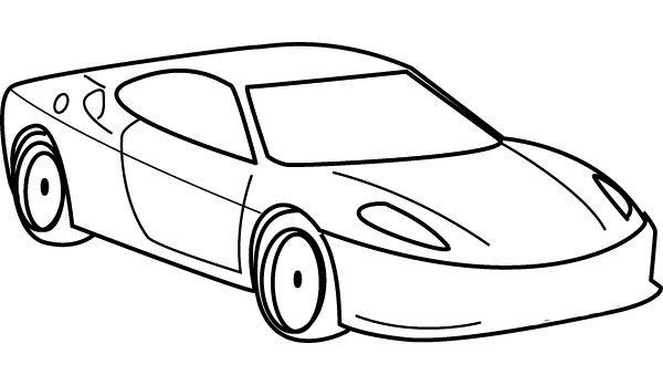 Cadillac XTS Coloring Page - Cadillac car coloring pages