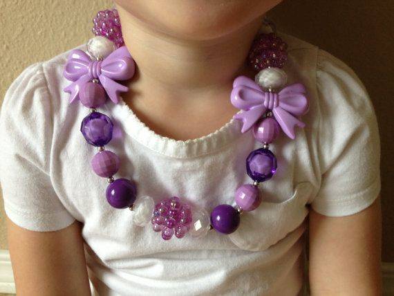 Cute chunky kids necklace!