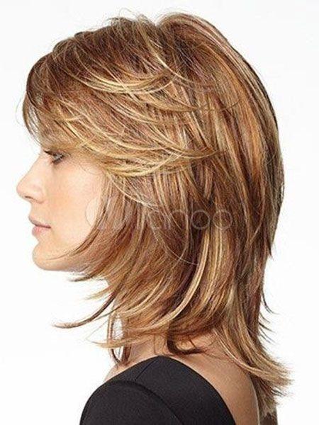 28 Kurze Frisuren für dickes glattes Haar