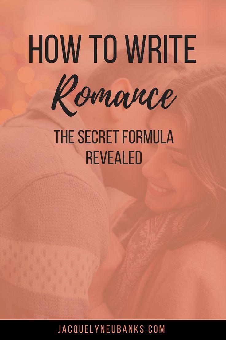 How to Write Romance: The Secret Formula