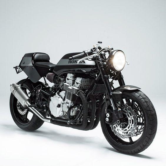 #Honda CB750 #caferacer #motorcycle #EatSleepRIDE app.eatsleepride.com