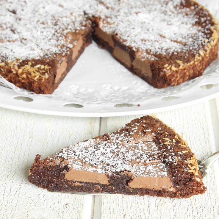 Kladdkakornas rolls royce fylld med stora, läckra chokladbitar!