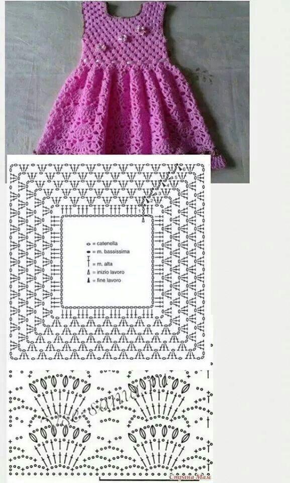 Mejores 8 imágenes de Patrones de ganchillo en Pinterest   Bebé de ...
