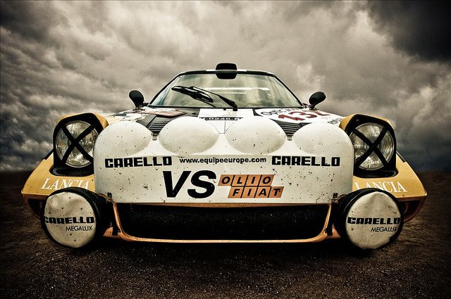 Lancia Stratos by Christophe Le Tellier, via Flickr