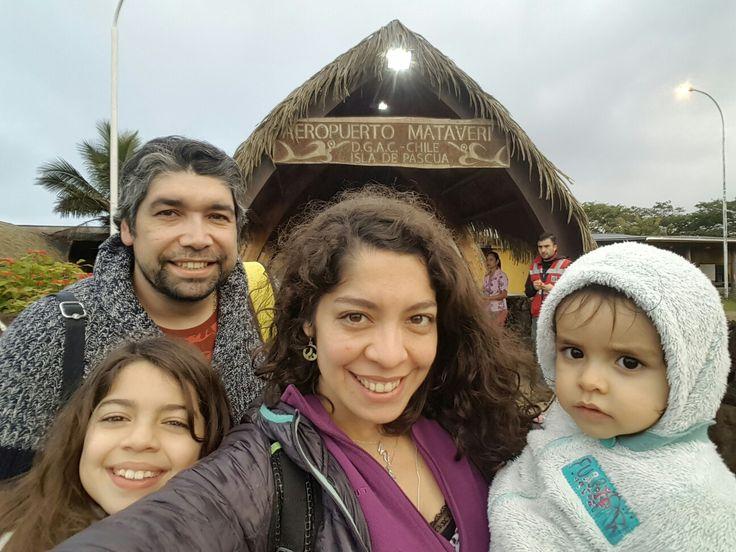 Aeropuerto Mataver Isla de Pascua Chile