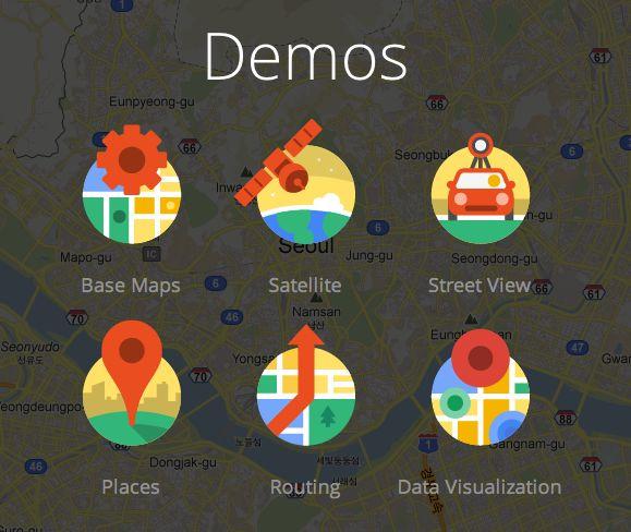 Google map icons