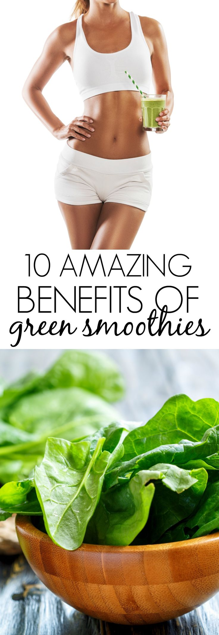 I LOVE how green smoothies are so easy to make and provide AMAZING health benefits! They're life changing!