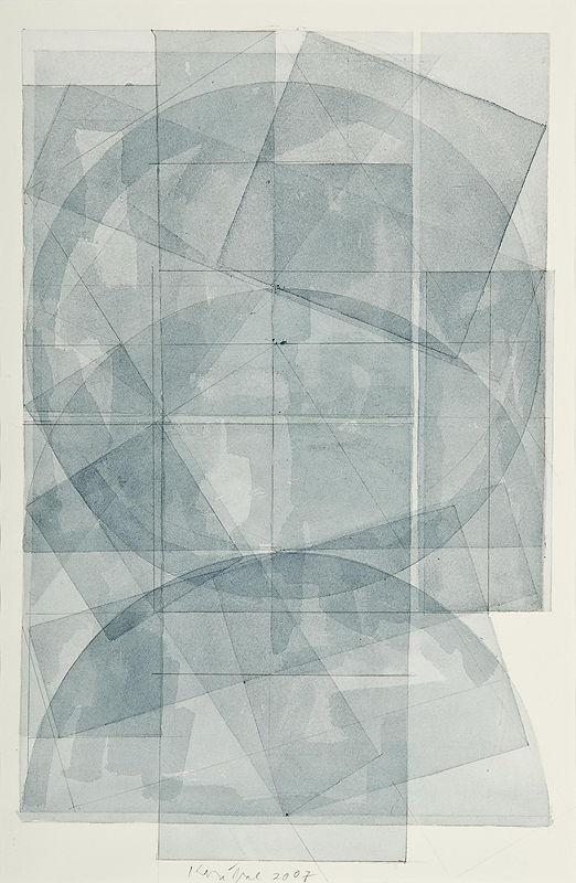 Kolíbal Stanislav, No Name, 2007 aquarell, pencil, paper 49 x 31,5 cm