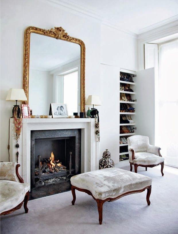 home of a fashion advisor Trinny Woodall