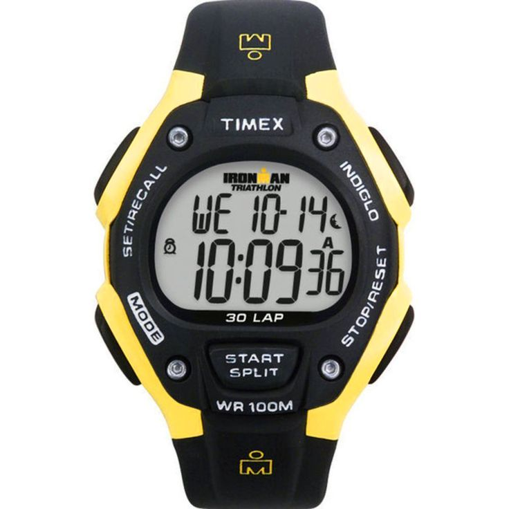17 best images about sport watches traditional timex men s t5e921 ironman traditional 30 lap watch black rubber band
