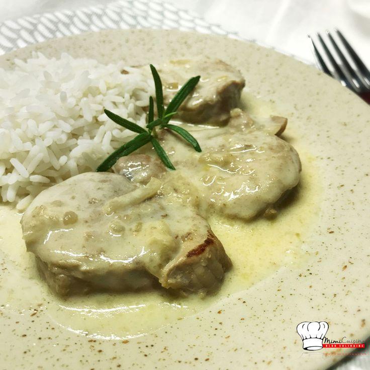 Filet mignon sauce Camembert Recette Cookeo