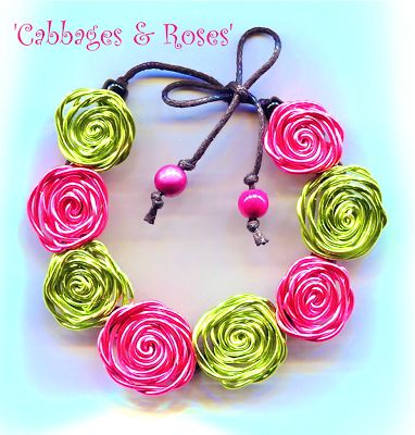 TUTO - WireWorkers Guild: CABBAGES & ROSES