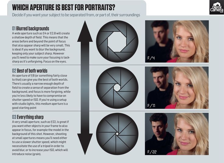 What is the best aperture for portraits: free photography cheat sheet