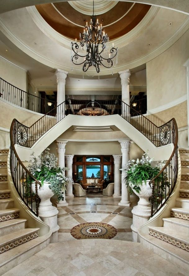 Mansion Foyer Designs : Best images about luxury entrance foyer on pinterest