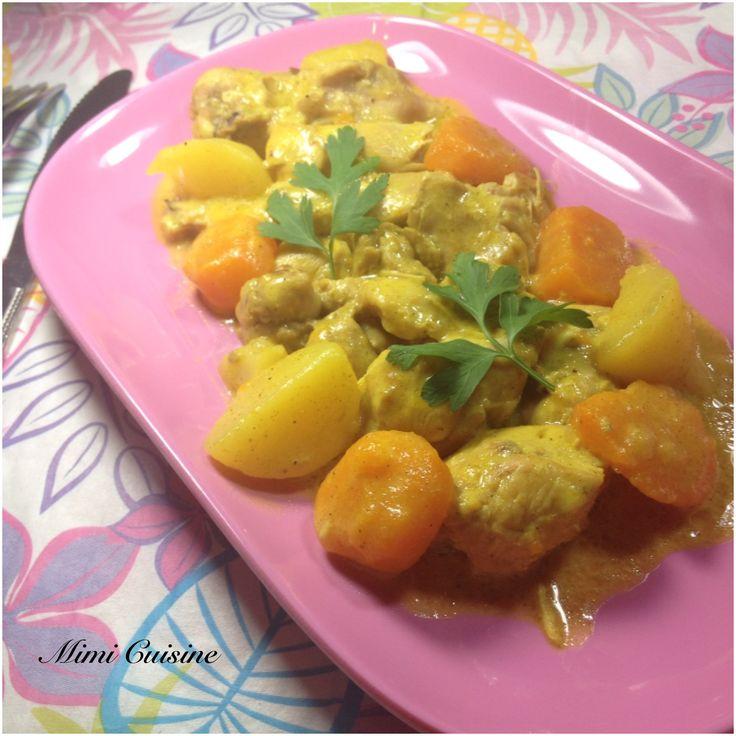 Sauté de poulet façon colombo Recette Cookeo - Mimi Cuisine