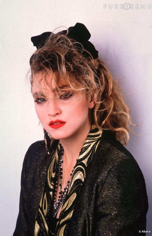 Madonna e o seu visual dos anos 80