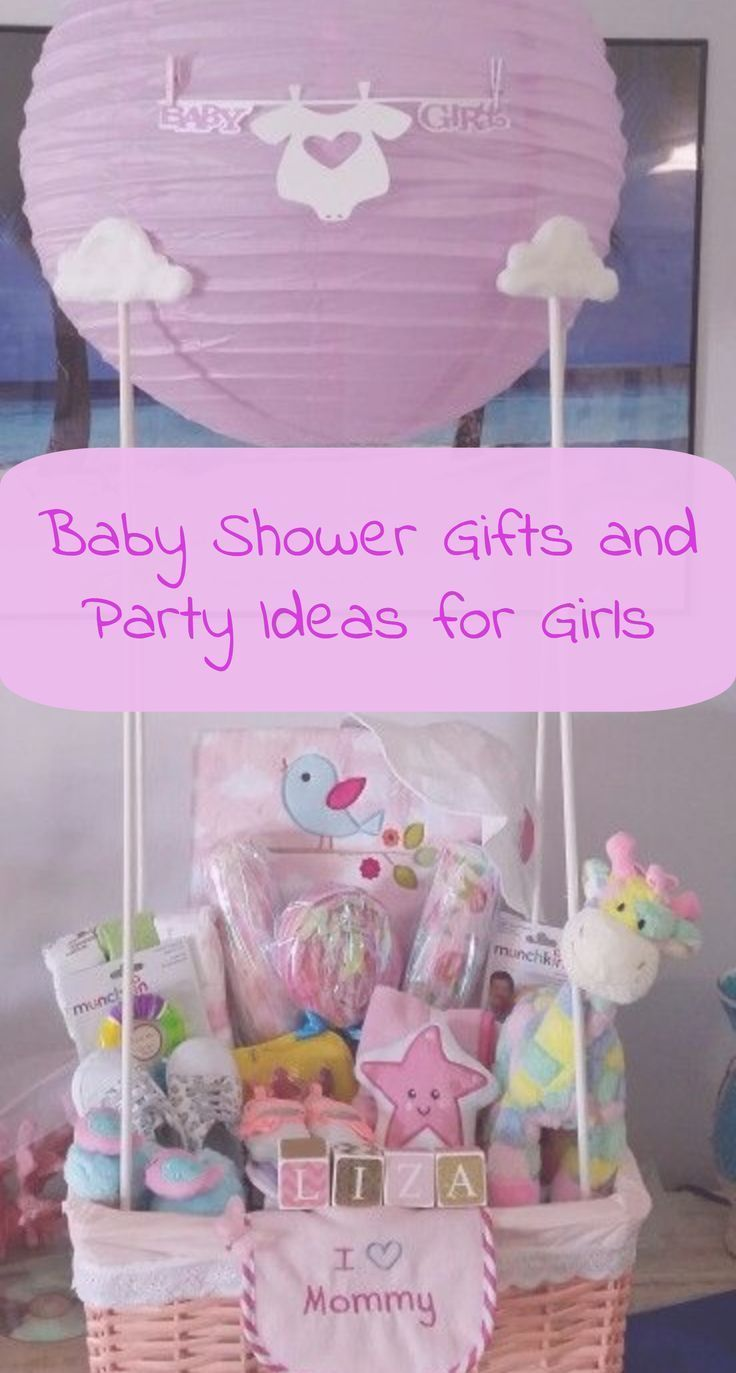 Diy Baby Shower Party Ideas For Girls With Images Baby Girl