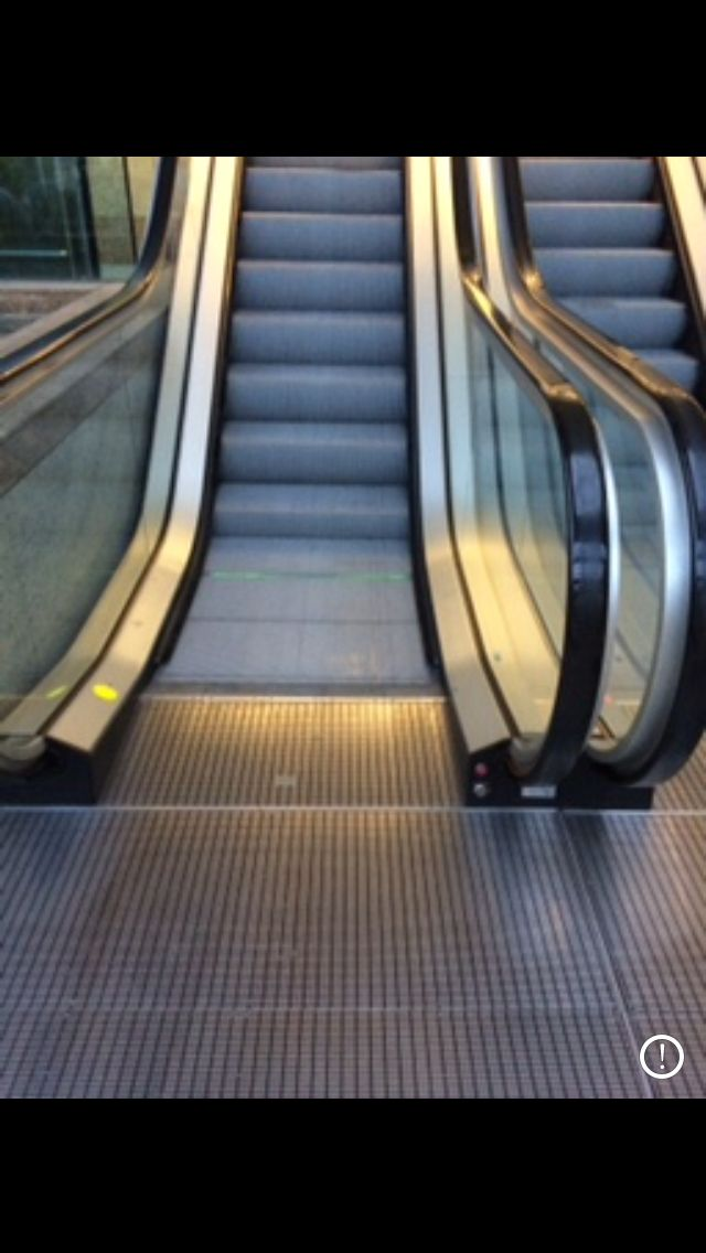 Specialist escalator cleaning services (customer, capital building liverpool) - call 0845 299 3937