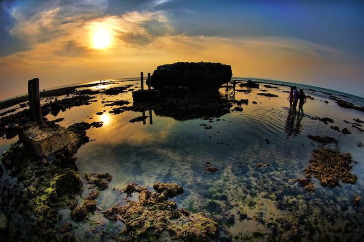 Anyer beach, West Java, Indonesia