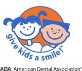 ADA Give Kids A Smile Logo