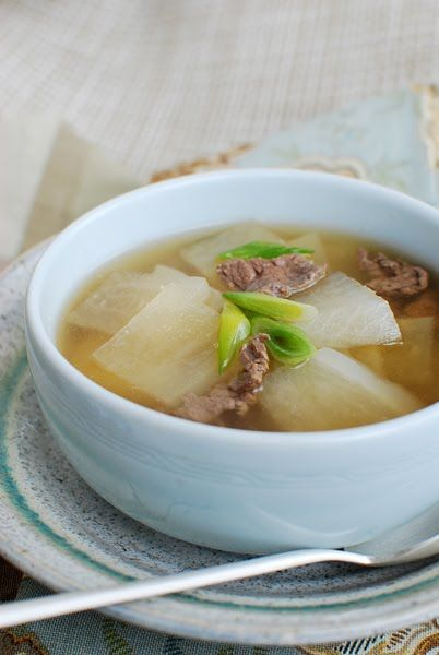 Korean Radish Soup (Mu Guk/Moo Guk) | Korean Bapsang