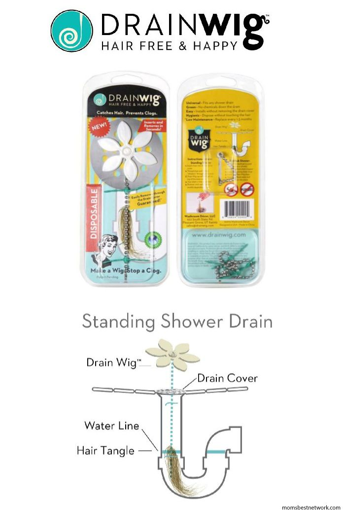 We hate that wad of hair that clogs up our drain, which is why we love this product....The Drain Wig Hair Catcher check it out now!