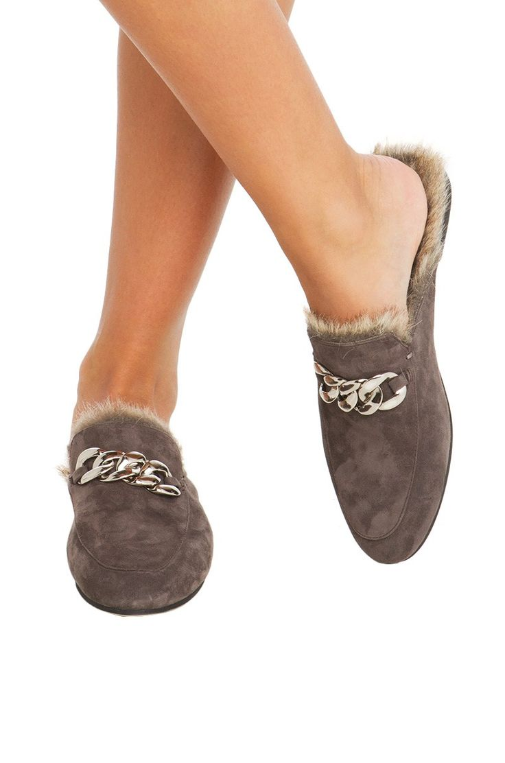 Shop Women's Jeffrey Campbell Gray size Mules & Clogs at a discounted price  at Poshmark.