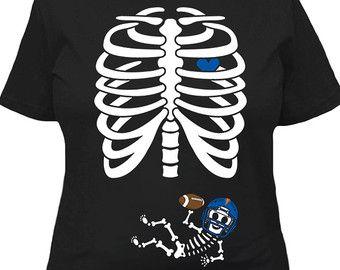 Disfraces de Halloween para embarazadas embarazo anuncio T camisa camiseta esqueleto regalos maternidad bebé ducha camiseta señoras Tee MAT-790