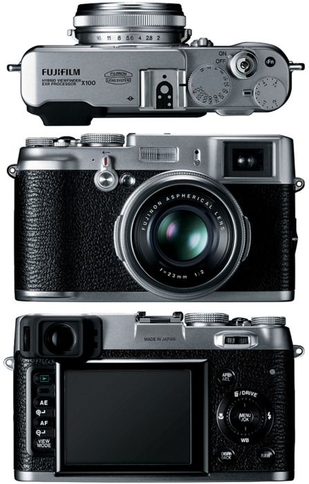 Fujifilm FinePix X100 -- Words cannot explain how much I want this camera. Goodbye paychecks