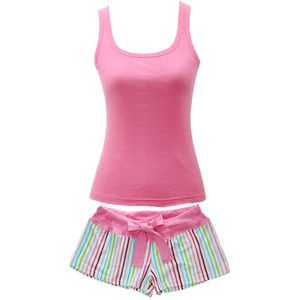 gorgeous tank top pajamas sets   shop intimates sleepwear pajamas pink womens pajama set tank top shirt ...