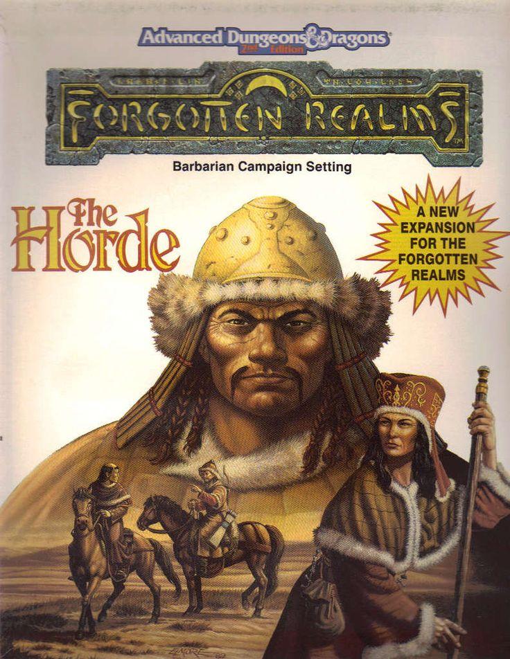 The Horde (2e) - Wizards of the Coast   Forgotten Realms   AD&D 2nd Ed.   DriveThruRPG.com