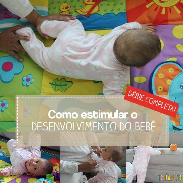 Sete vídeos feitos com a fisioterapeuta Letícia Swoboda Castro ensinam como estimular o desenvolvimento do bebê em seu primeiro ano de vida.