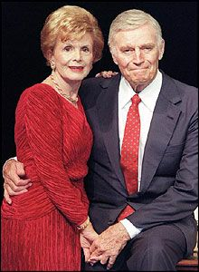 Charlton Heston and Lydia Clarke (64 years) married March 17, 1944 to April 5, 2008 (his death) true love, till death do us part.....