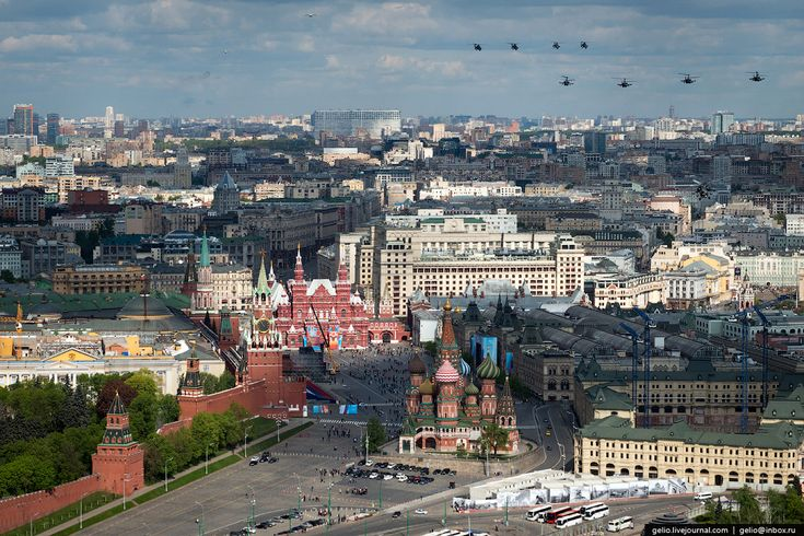 Photojournalist Slava Stepanov took these amazing aerial photos on May 3, 2014 during a rehearsal for Moscow's annual Victory Day parade. See more of Mr. Stepanov's photos at http://gelio.livejournal.com and http://gelio-press.ru.