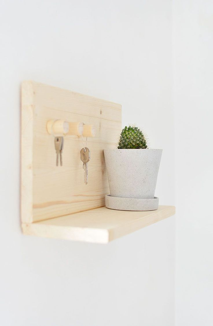 burkatron.: DIY | key shelf