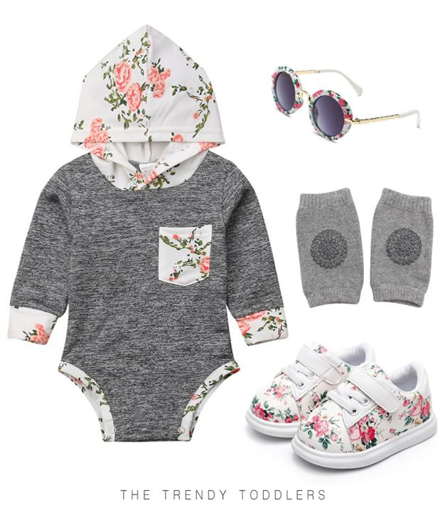 SALE 40% OFF + FREE SHIPPING! SHOP Our Stylish Floral Look for Baby Girls  – The Trendy Toddlers collection